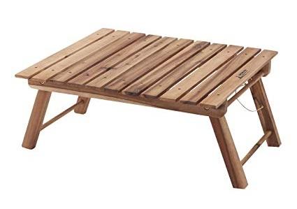 キャプテンスタッグ 木製 テーブル