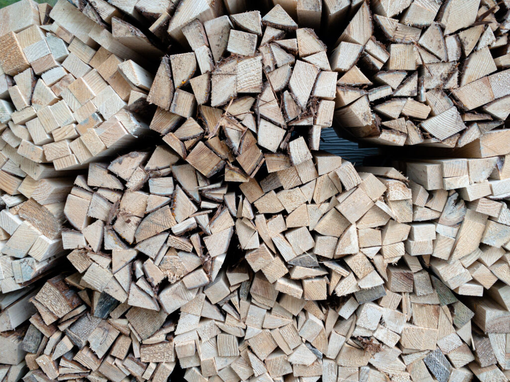針葉樹、広葉樹の特徴で薪を考える